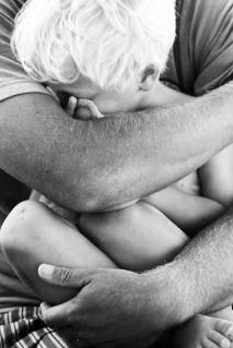 dad embrace
